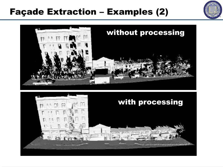 Façade Extraction – Examples (2)