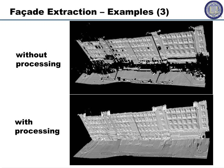 Façade Extraction – Examples (3)