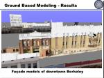 ground based modeling results1