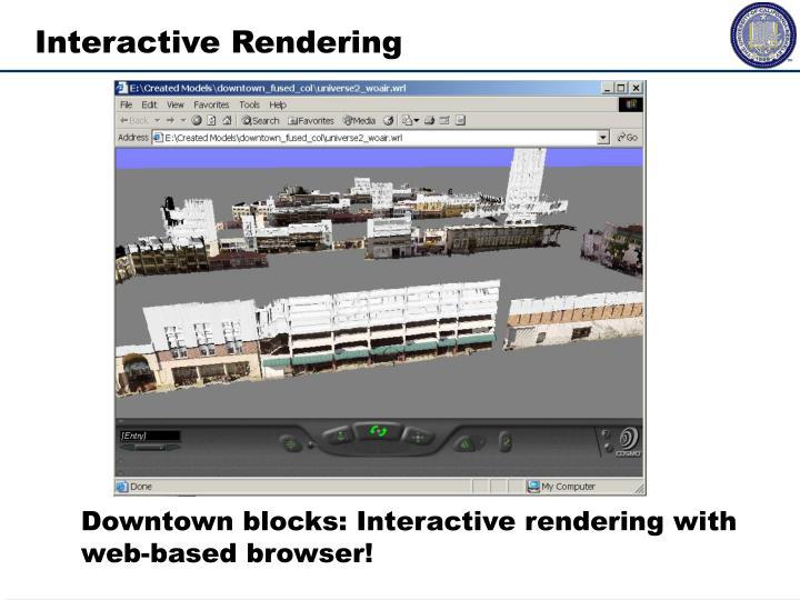 Interactive Rendering