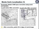 monte carlo localization 1