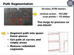 path segmentation