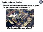 registration of models