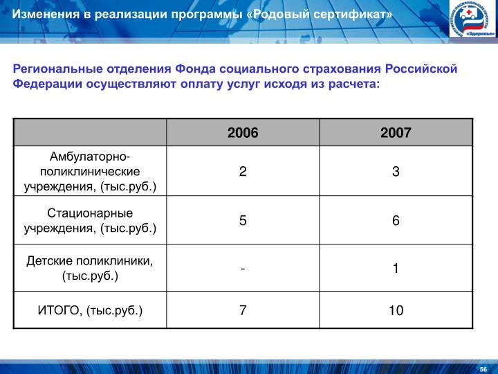 Региональные отделения Фонда социального страхования Российской Федерации осуществляют оплату услуг исходя из расчета: