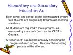 elementary and secondary education act1