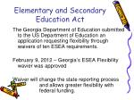 elementary and secondary education act2