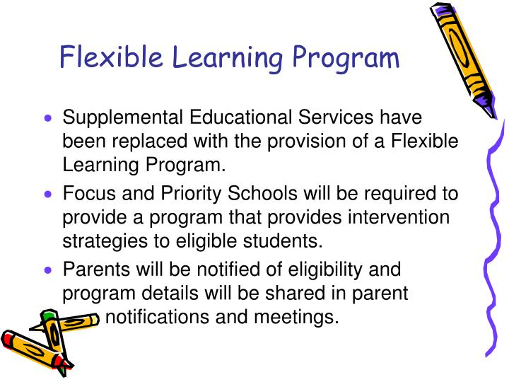 Flexible Learning Program