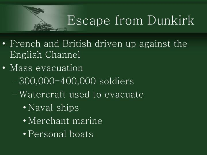 Escape from Dunkirk