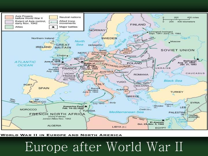 Europe after World War II