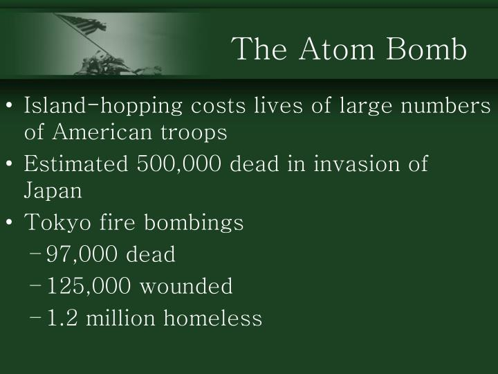 The Atom Bomb
