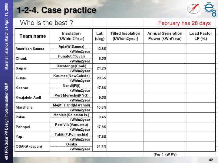 1-2-4. Case practice