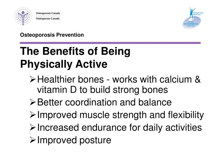 Osteoporosis Prevention