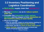 3 3 inventory positioning and logistics coordination