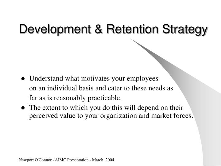 Development & Retention Strategy