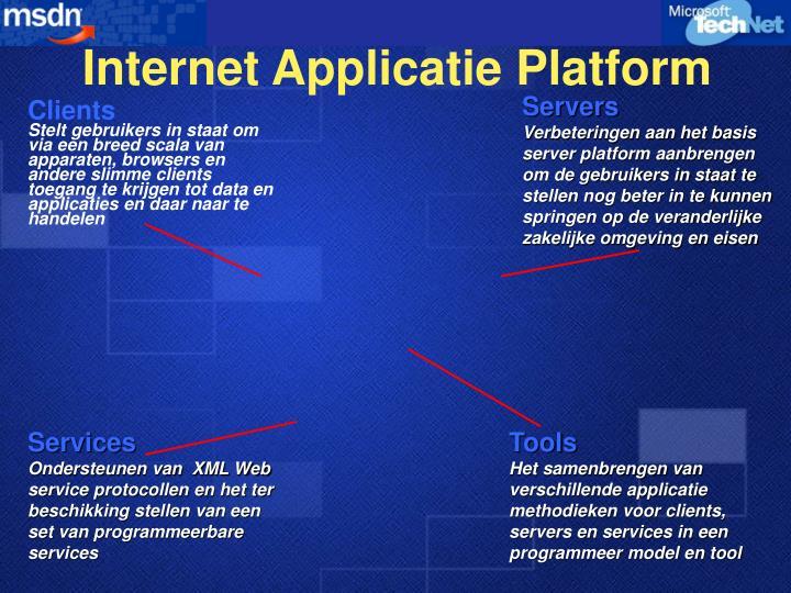 Internet Applicatie Platform