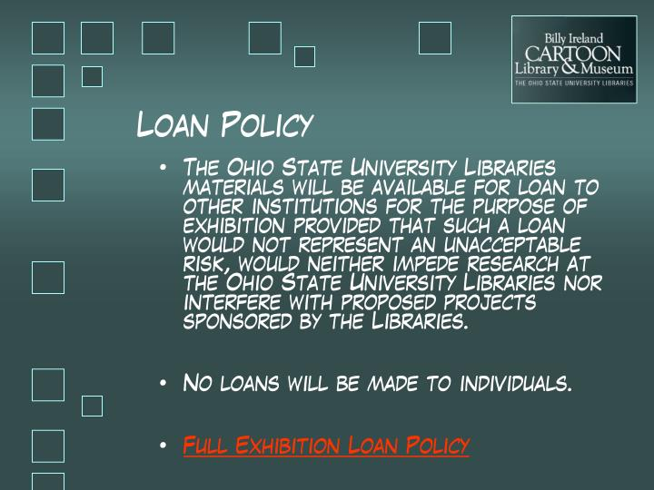 Loan Policy