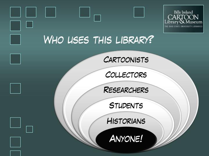 Who uses this library?