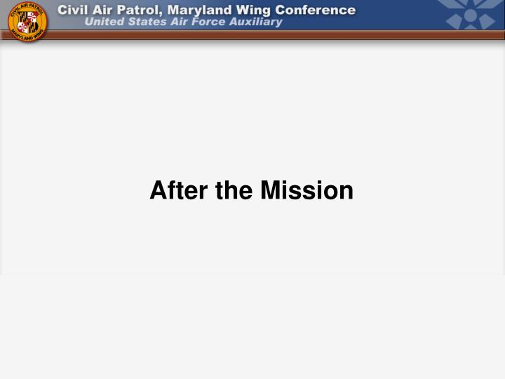 After the Mission