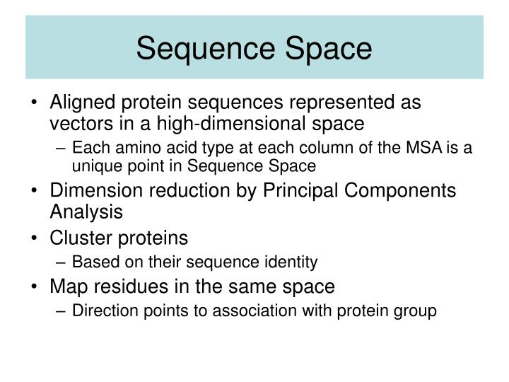 Sequence Space