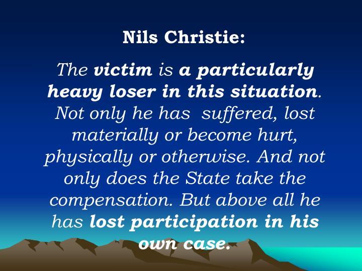 Nils Christie: