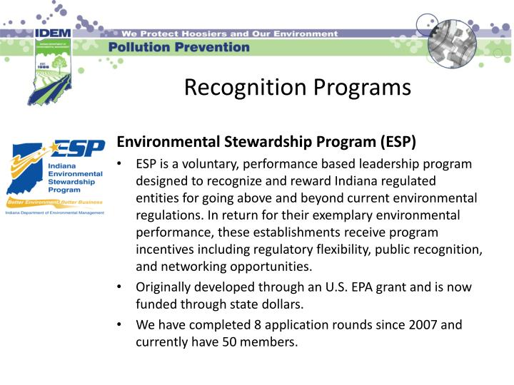 Recognition Programs
