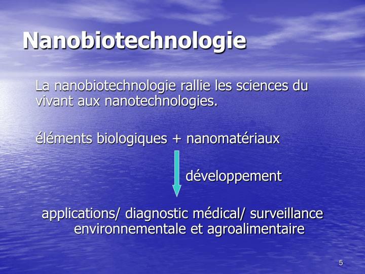Nanobiotechnologie
