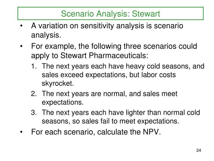 Scenario Analysis: Stewart