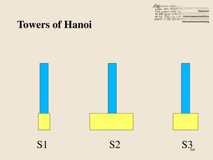 Towers of Hanoi