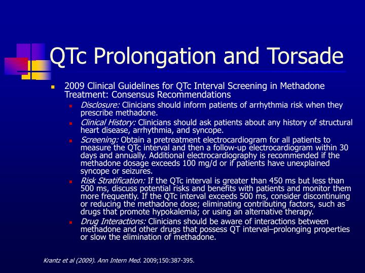 QTc Prolongation and Torsade