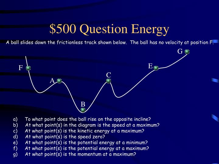 $500 Question Energy