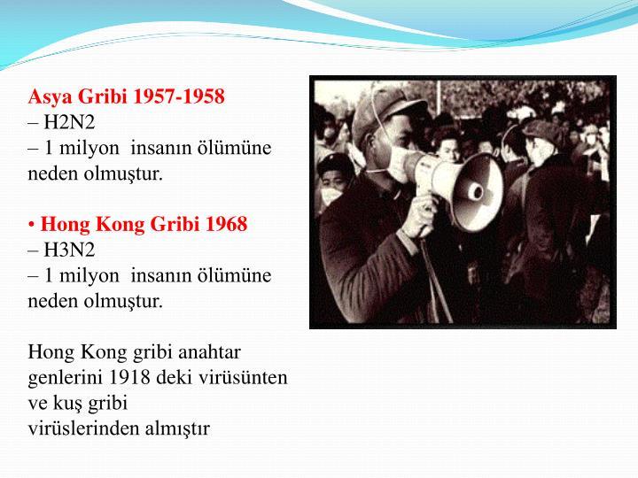 Asya Gribi 1957-1958