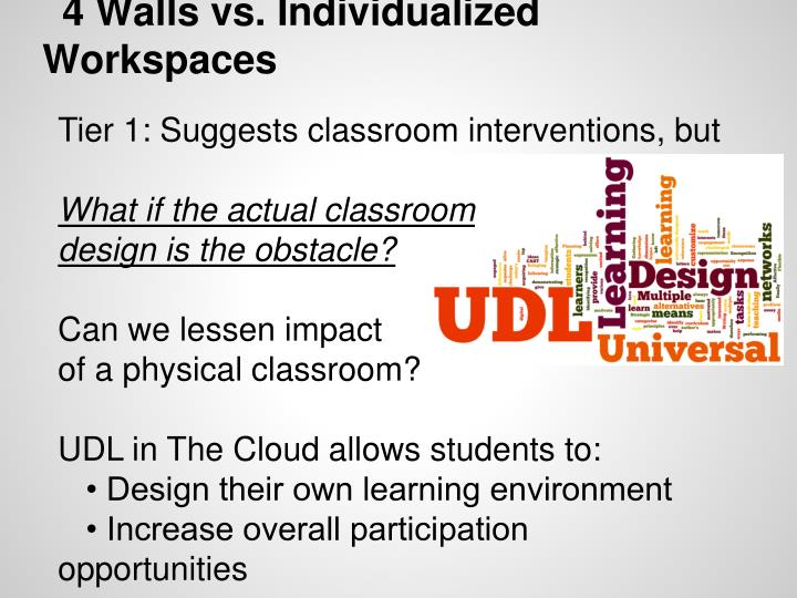 4 Walls vs. Individualized Workspaces