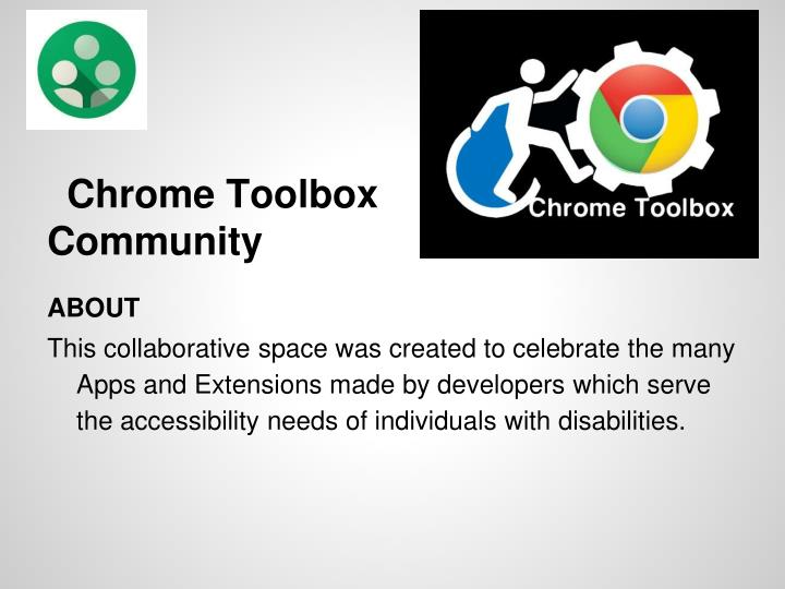 Chrome Toolbox