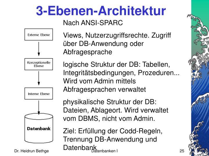 3-Ebenen-Architektur