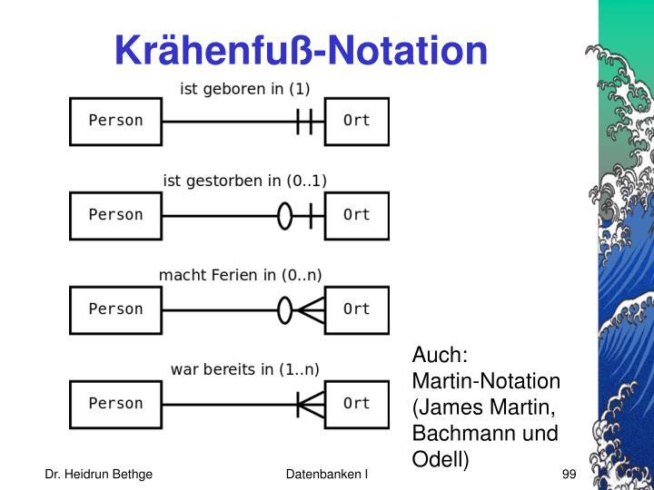 Krähenfuß-Notation