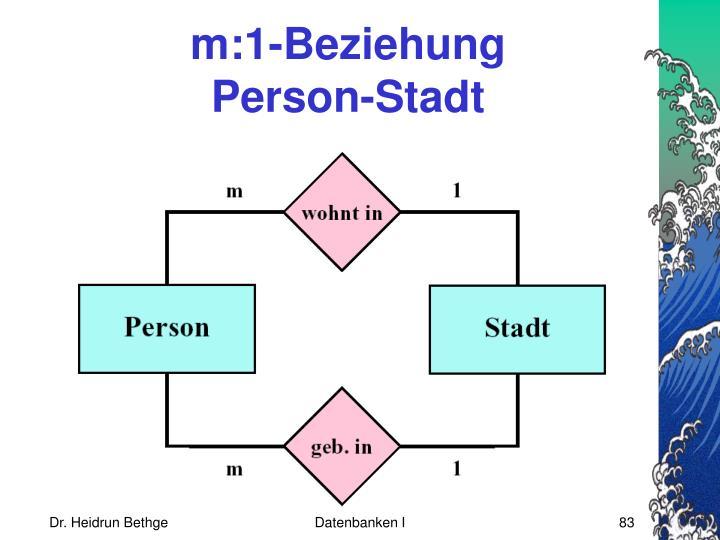 m:1-Beziehung
