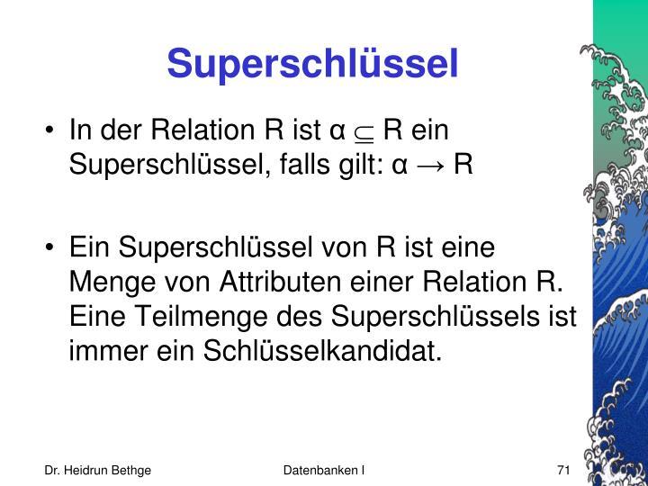 Superschlüssel