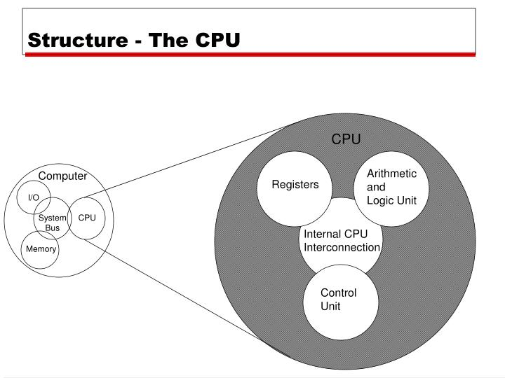 Structure - The CPU