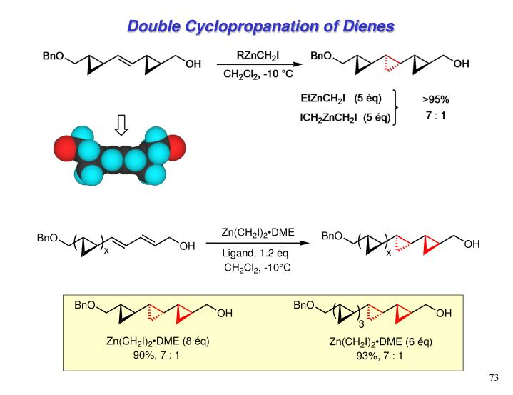 Double Cyclopropanation of Dienes