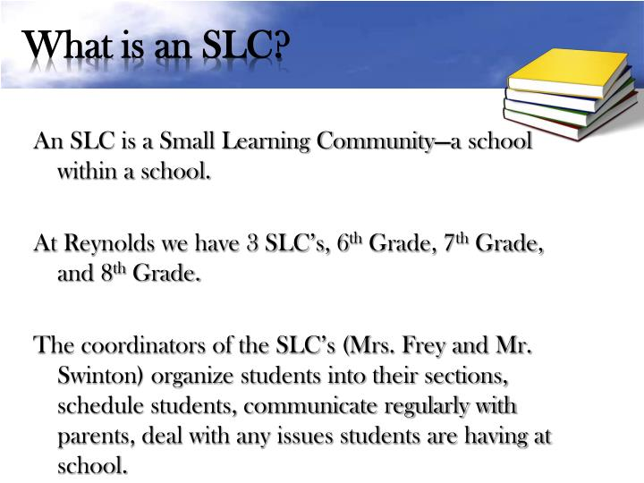What is an SLC?
