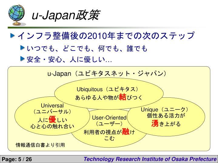 u-Japan政策