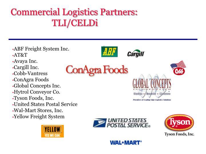 Commercial Logistics Partners: