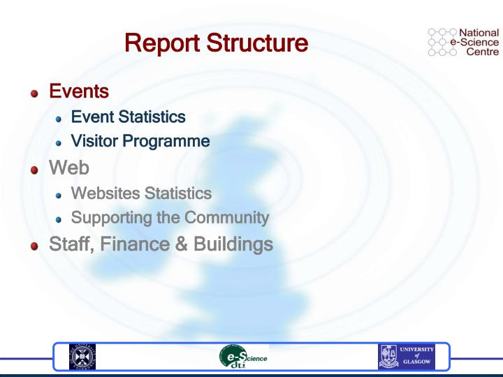 Report structure1