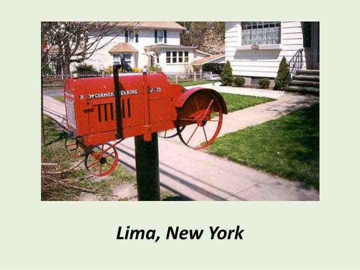 Lima, New York