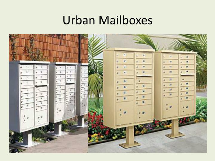 Urban Mailboxes