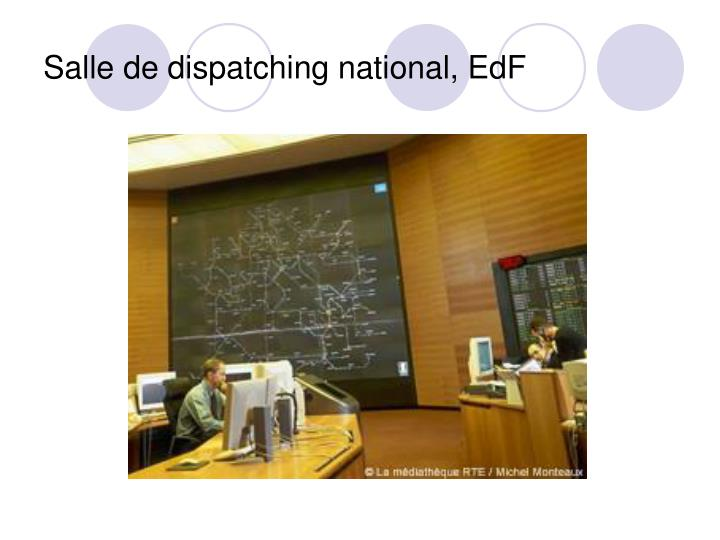 Salle de dispatching national, EdF
