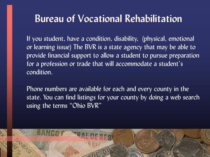 Bureau of Vocational Rehabilitation