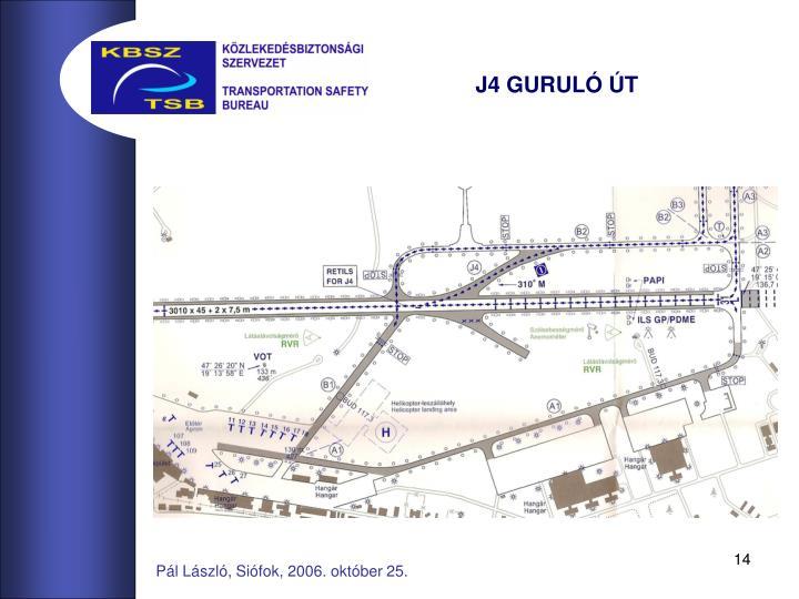 J4 GURULÓ ÚT