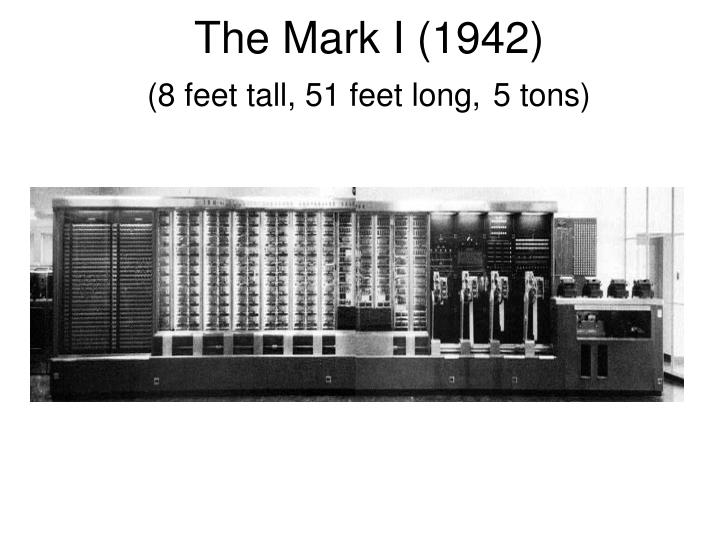 The Mark I (1942)