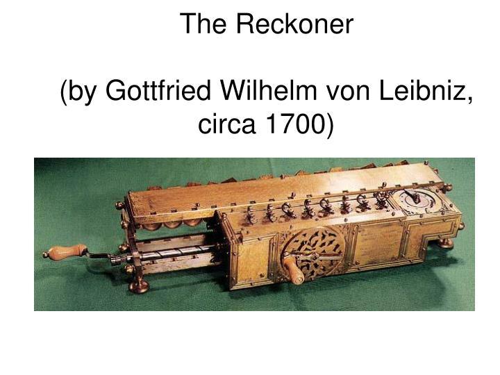 The Reckoner